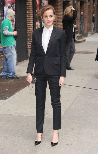 Emma Watson Photos: Emma Watson Stops by 'Letterman'