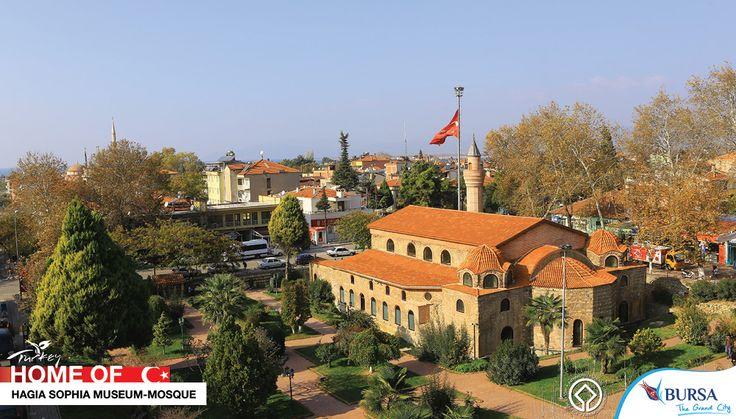 HAGIA SOPHIA MUSEUM - MOSQUE - The Grand City - #bursa #turkey #ottoman #hagia #sophia #museum #mosque #turkish #prayer #byzantion #iznik #homeof #dome #travel #photo