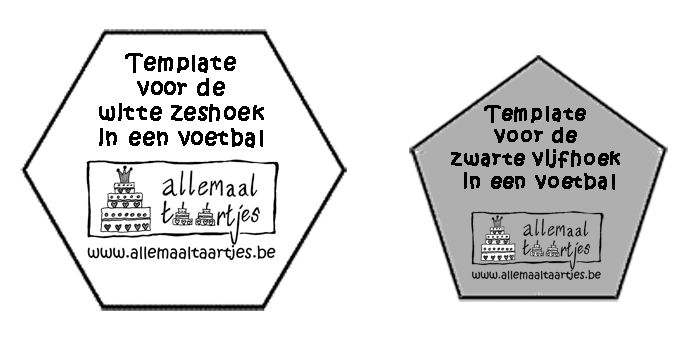 voetbal template