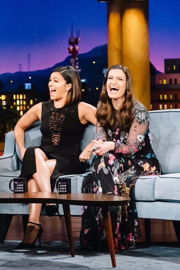 Things Got Awkward When Gina Rodriguez Asked Idina Menzel About Losing Her Virginity — You Have to Watch!