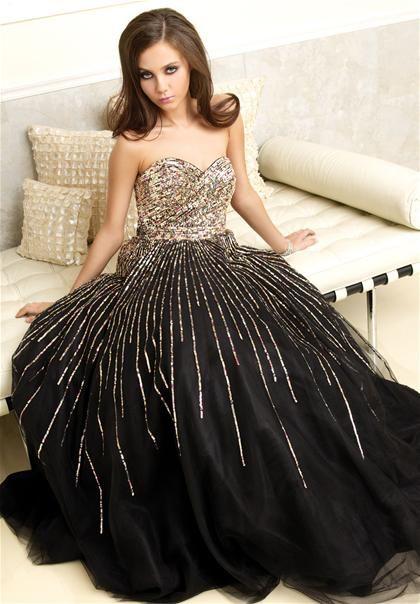Prom Dresses By Designer Black Beauty 2012 Pinterest Dresses