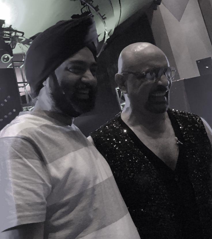 Harjeet Khanduja with Bharat Dabholkar