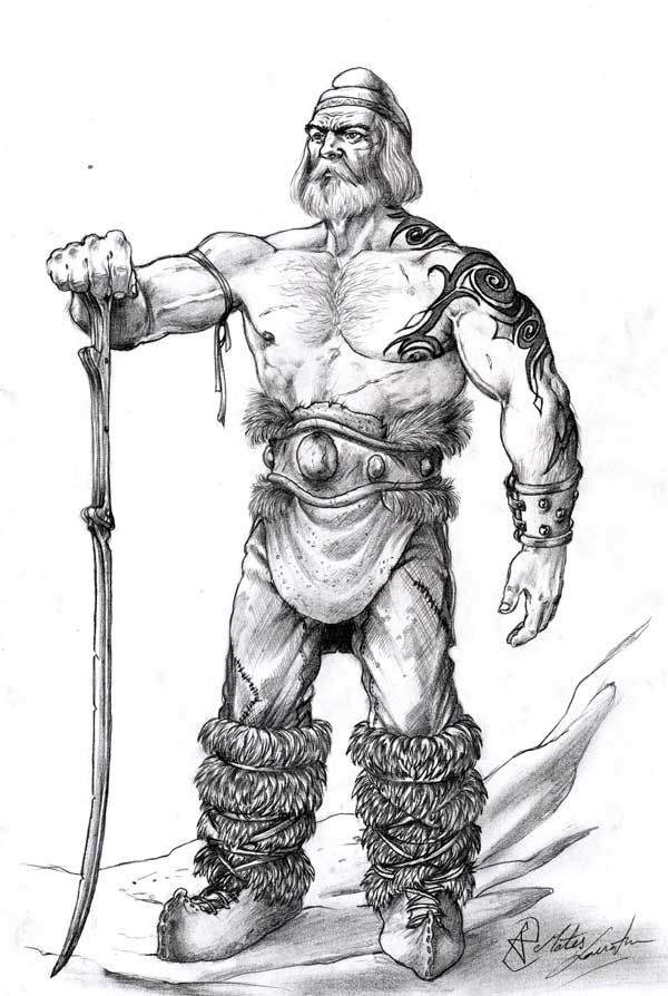 Dacian old warrior.