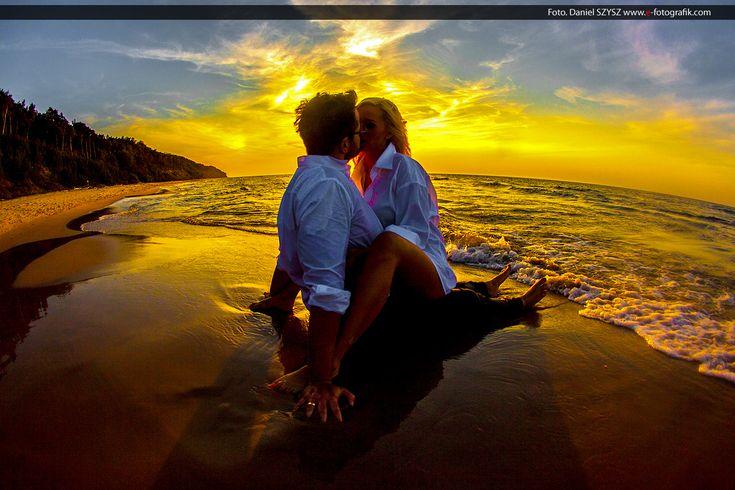 Zdjęcia ślubne nie muszą być nudne – magiczne zdjęcia na plaży