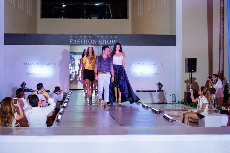 """El 22 de septiembre de 2015, se celebró el Fashion Show en, Grand Velas Riviera Nayarit, un evento que rindió honor a la moda con la exhibición de prendas exclusivas de la Colección """"Crucero 2016"""", creada por el diseñador Alejandro Carlín. Entérate en café y cabaret."""