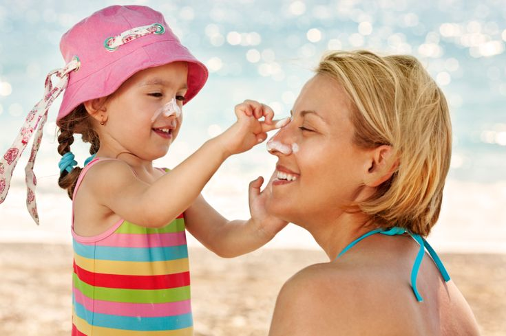 How to choose the proper sunscreen for your child.