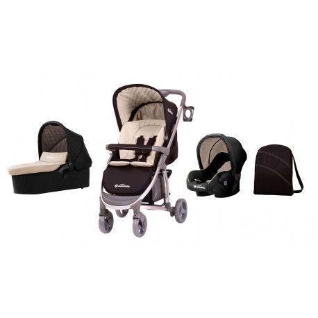 CARRO DE BEBÉ ASALVO BABY ROMA: el trío Roma consta de silla, capazo y grupo 0. Te sorprenderá lo poco que pesa y la agilidad con que se mueve.