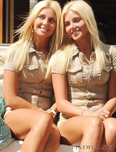 Nude twins Hot