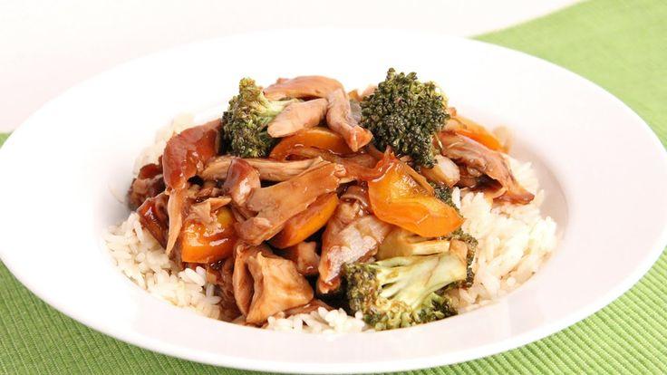 Crock Pot Teriyaki Chicken Recipe - Laura Vitale - Laura in the Kitchen ...