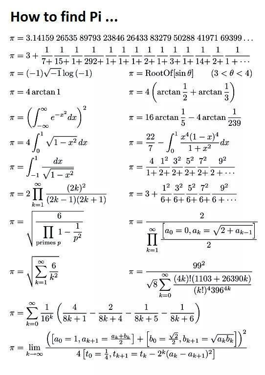 Calculate Pi
