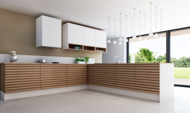 I want this kitchen from Svane in natural oak. It looks so fresh and timeless.