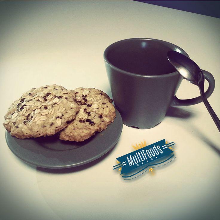 Recarga las baterías con un rico desayuno light!  Verdad que esas galletas de #AvenasMultifoods dan seguidillas! #disfrutalavida #funnylive #lifestyle