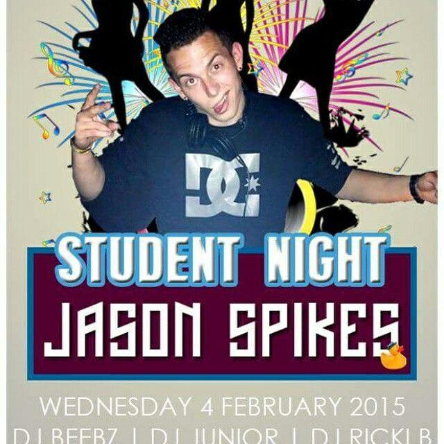 Wednesdays student night tonight!
