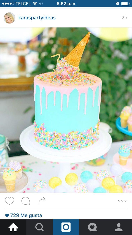 Ice crearán cake