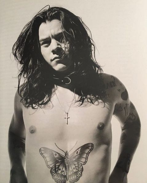 Harry Styles for Another Man magazine