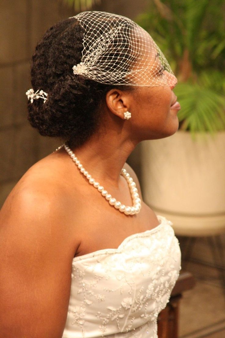 Simple style for wedding. D.I.Y.: Wedding Hairstyles for Textured Hair | My Wed Deal