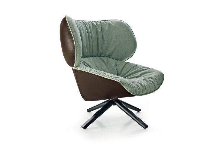 Armchair: TABANO - Collection: B&B Italia - Design: Patricia Urquiola
