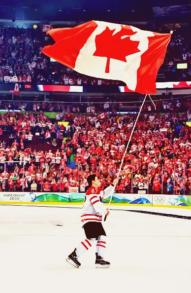 "Sidney Patrick Crosby, born August 7,1987 is captain of the Pittsburgh Penguins. He proudly represents Canada in this year's 2014 Olympics. He also secured Canada's record 14th gold medal of the Vancouver 2010 Winter Games, and the nation's eighth Olympic gold in men's hockey with his "" Golden Goal"" game winner. @Melissa Henson Shiller"