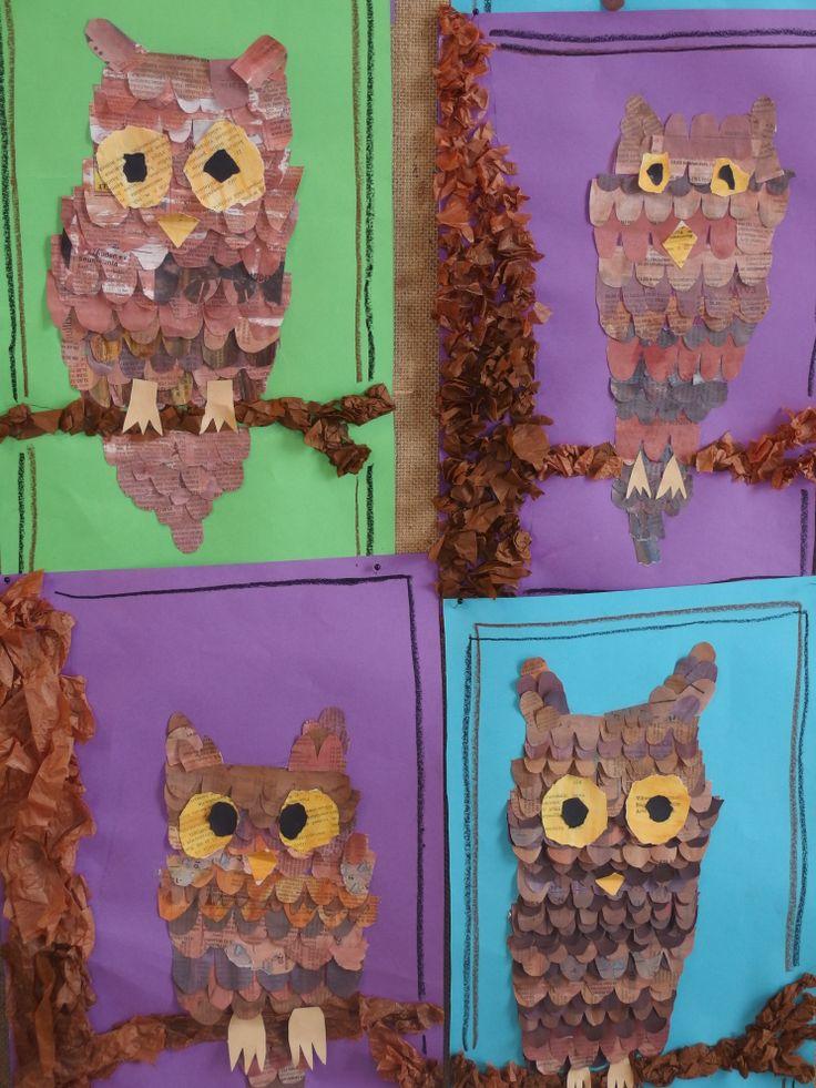 Pöllöt murrettu ruskea 4 lk