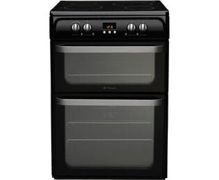 Product image for Hotpoint HUI614K Electric Cooker Black
