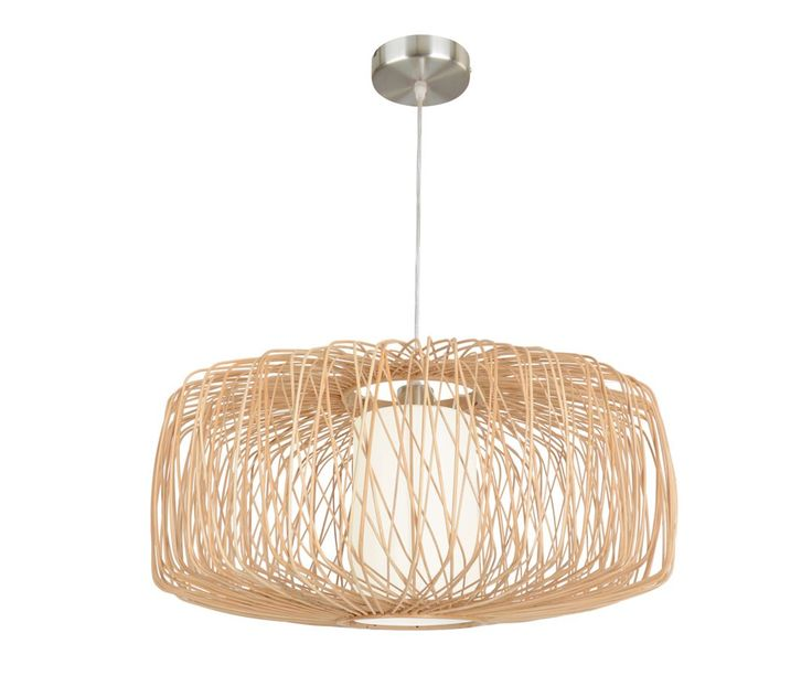 Florida 580mm Wicker Pendant in Natural