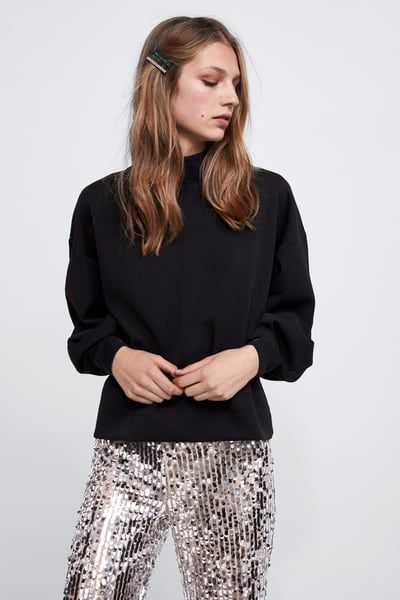 7ca1f905 Image 2 of OVERSIZED SWEATSHIRT from Zara | Clothes in 2018 ...