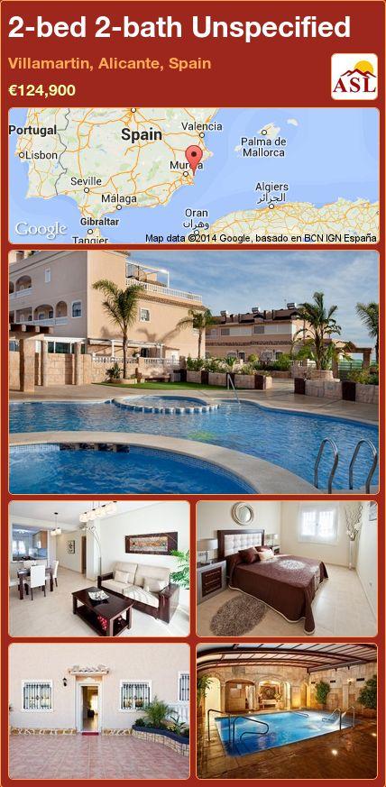 2-bed 2-bath Unspecified in Villamartin, Alicante, Spain ►€124,900 #PropertyForSaleInSpain