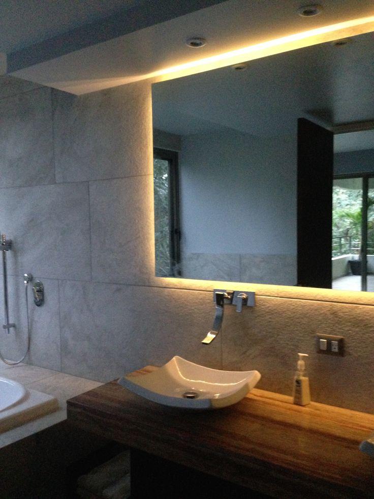Resultado de imagen para espejo baño con luz led