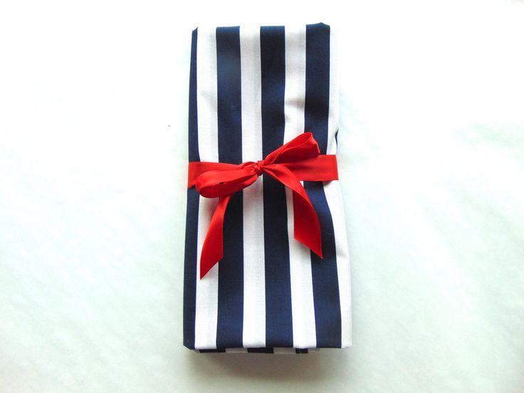 Swaddle Blanket, Snuggle Blanket, Cotton, Striped Baby Blanket, Navy Blue Stripes, Baby Blanket, Baby Shower Gift, Baby Boy, Nursery Decor by AnnieRoseCrafts on Etsy https://www.etsy.com/listing/506121718/swaddle-blanket-snuggle-blanket-cotton
