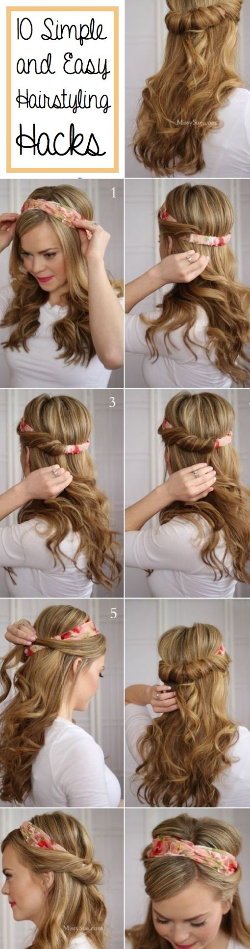 10+Simple+and+Easy+Hairstyling+Hacks+for+Those+Lazy+Days