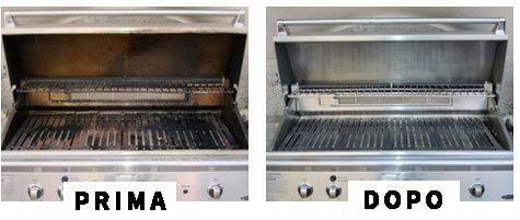 come pulire la griglia del barbecue in maniera naturale