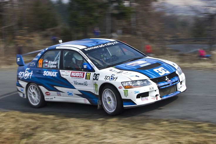Redesign for Martin Semerád for season 2012 - Valašská Rally 2012.