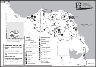 Minnesota bike trails, mn bike trails, hiking trails in Minnesota, father hennepin hiking, biking mn
