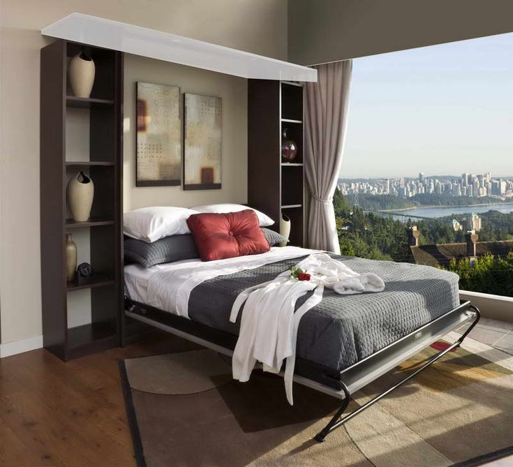 Bed Desk, Murphy Beds IKEA Design Ideas With Hardwood Floors: The Functional Murphy Beds IKEA: Solution for Your Minimalism Home