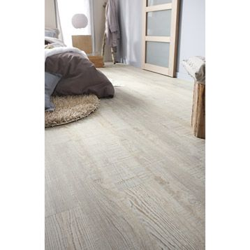 Vynil planks to click Senso Lock Candelnut GERFLOR, bois marron | Leroy Merlin