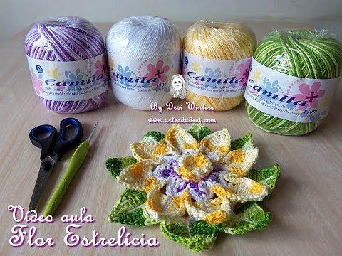 Flor Estrelícia Criação e Execução: Desi Winters www.artesdadesi.com Dúvidas: www.facebook.com/ArtesdaDesi artesdadesi@outlook.com