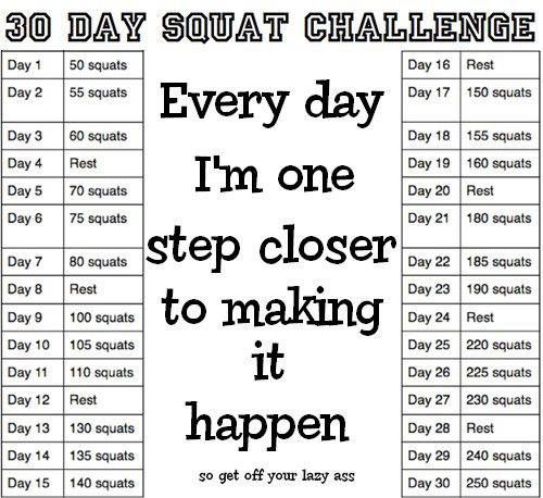 Pass Go and Be Below 200: July Squat Challenge