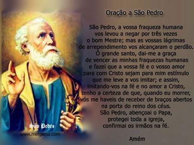 Hoje, o mundo cristão comemora São Pedro Apóstolo. Antes de se tornar um dos doze discípulos de Cristo, Simão Pedro era pescador, nascido em Betsaida,