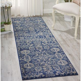 Shop for Nourison Somerset Navy Area Rug (2' x 5'9). Get free shipping at…