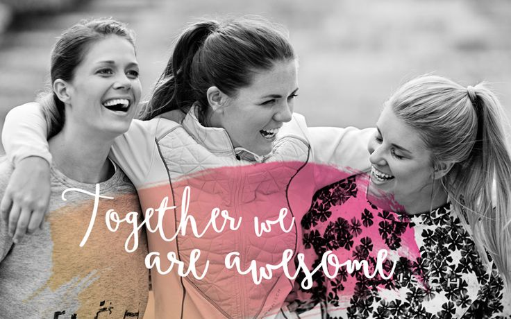 Röhnisch Together Initiative highlights the fact that when we train together, we do it more often, push ourselves harder and have more fun!
