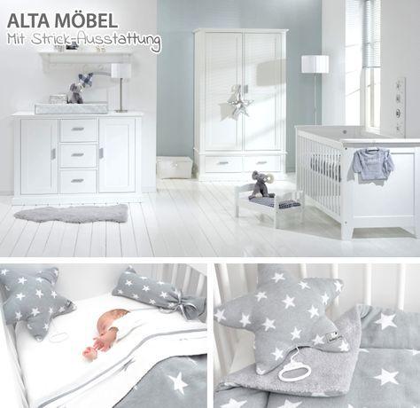 Klassisches Babyzimmer mit Strickausstattung Kinder