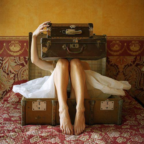 retro luggage - Google Search