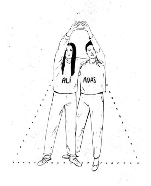 """Hola, mujeres. Seguimos trabajando juntas. - para """"Aliadas"""", exposición en Centro Centro, Madrid"""
