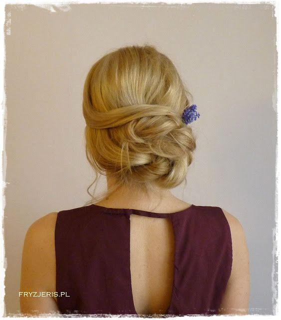Blog o włosach - Fryzjeris: Fryzura ślubna 4