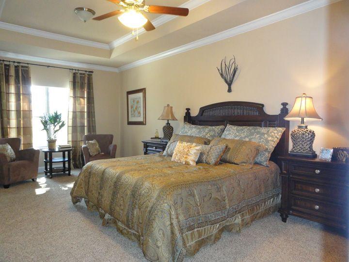 The Bonaventure Floor Plan Master Bedroom Featured In The