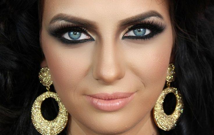 Arabic Makeup Epic Transformation - Artist of Makeup Tutorial ماكياج العربي