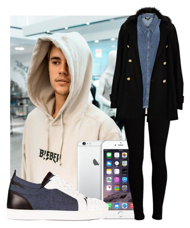 """""""And I wanna lay with you 'til I'm old ♪"""" by drikasilva ❤ liked on Polyvore featuring Christian Louboutin, River Island, Vero Moda and Kenzo"""