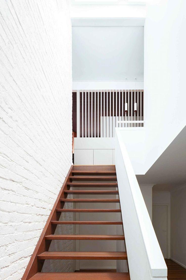 Pin van j u l i a h op stairs pinterest - Railing trap ontwerp ...