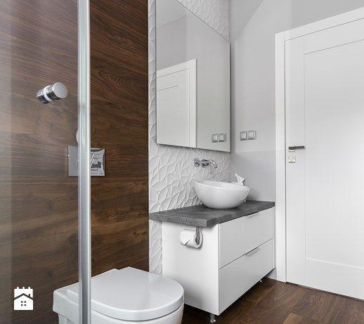 Dom w Bochni / Stabrawa.pl - Łazienka, styl minimalistyczny - zdjęcie od WWW.NIEWFORMIE.PL