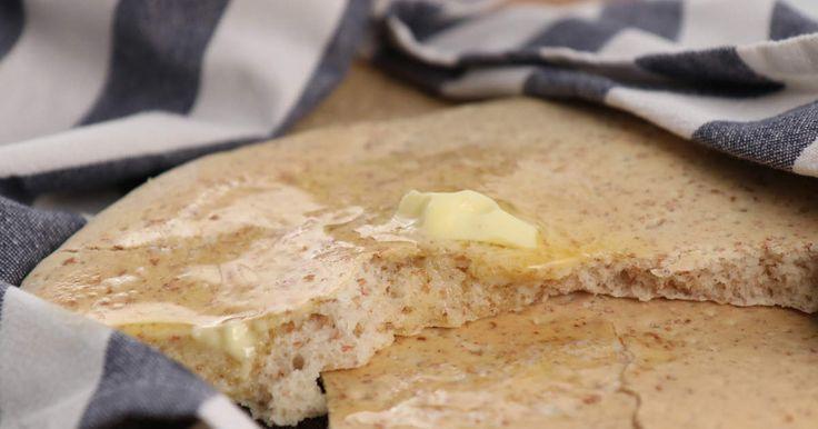 Mjukt tunnbröd med grahamsmjöl | Recept från Köket.se